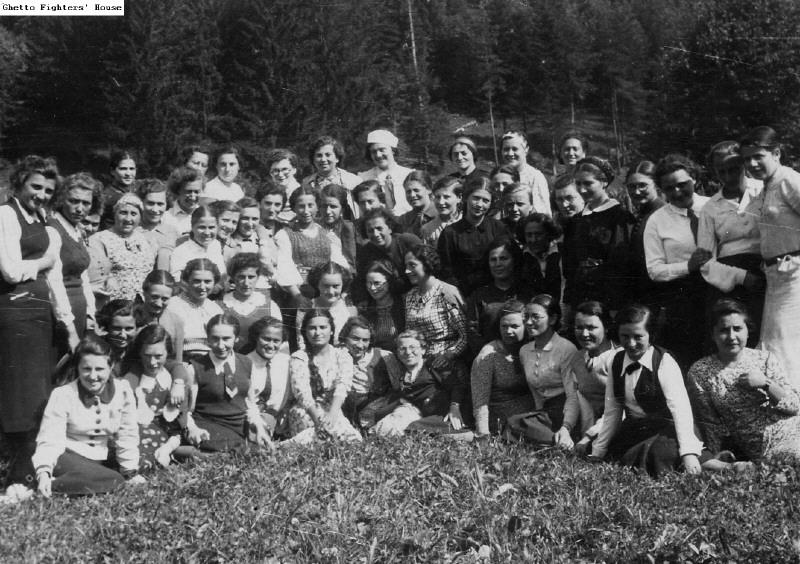 Girls in a summer program at Rajcza