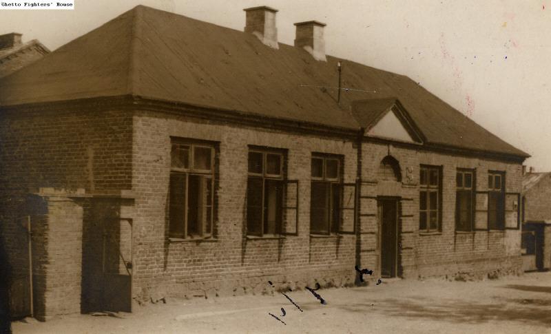 Bais Yaakov building in Mława